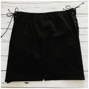 Ralph Ralph Lauren Skirts - Ralph Ralph Lauren cotton skirt with side lacing